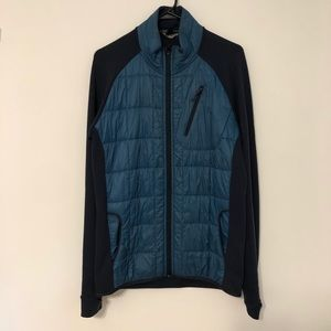 SMARTWOOL mens blue Corbet 120 jacket size medium